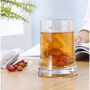 Image 5 - Bolsas de café para cocinar hierbas aromáticas multifunción 100 Uds. Bolsa con cordón bolsas de té bolsas de sellado bolsas de Medcine no tejidas