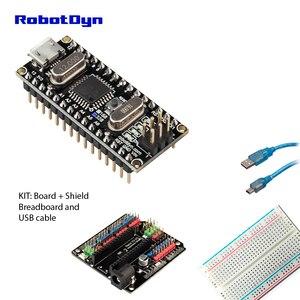 Image 2 - Nano CH340/ATmega328P MicroUSB, Pins soldered. Compatible for Arduino Nano V3.0