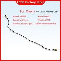 Línea de señal AAA para Xiaomi Mi 8, A2, A1, 6, 5, 5S Plus, 4, 4S, 4C, 4i, Mix, 2S, MI9, Note2, 3, conector Coaxial, Cable de antena de señal Wifi