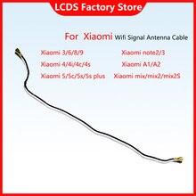 Ligne de Signal AAA pour Xiaomi Mi 8 A2 A1 6 5 5s Plus 4 4s 4C 4i Mix 2S MI9 note 2 3, connecteur Coaxial, câble d'antenne de Signal Wifi