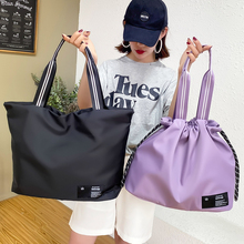 Fashion Travel Bag Women Cabin Bags Large Fitness Tote Handbag Oxford Waterproof Shoulder Bag Female Weekend Gym Yoga Bag 2021