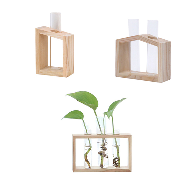 New Home Decoration Simple Nordic Glass Flower  Tube Bottle Hydroponic Terrarium Container Holder Decor for Bedroom Living Room 3