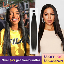 LOVE ME 24inchStraight Synthetic Bundles Hair Extensions Ombre Honey Blonde Highlighted