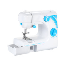 Mini 12 Stitches Sewing Machine Household Multifunction Double Thread And Speed Free-Arm Crafting Mending Machine LED(China)