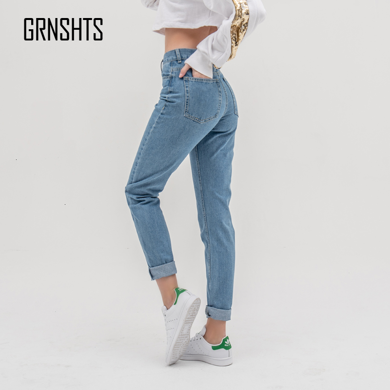 Jean Woman Mom Jeans Pants Boyfriend Jeans For Women With High Waist Push Up Large Size Ladies Jeans Denim 5xl 2019