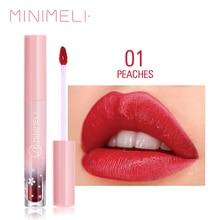 MINIMELI 6 colors Waterproof Multifunction Lip Gloss cheek tint Long Lasting Mat