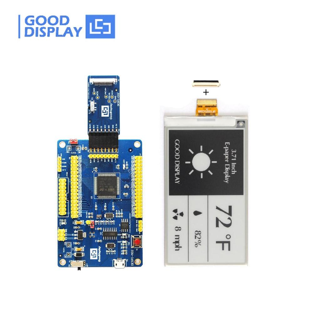 3.71 Inch Tri-color E-paper Display GDEW0371W7 With Connector Board Buy Eink Display