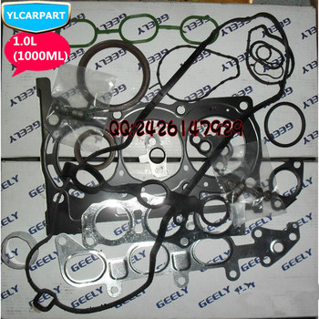 For Geely LC,Panda,Emgrand Pandino,GC2,Cross,GC2-RV,GX2,Xpandino,Car engine repair gasket kit