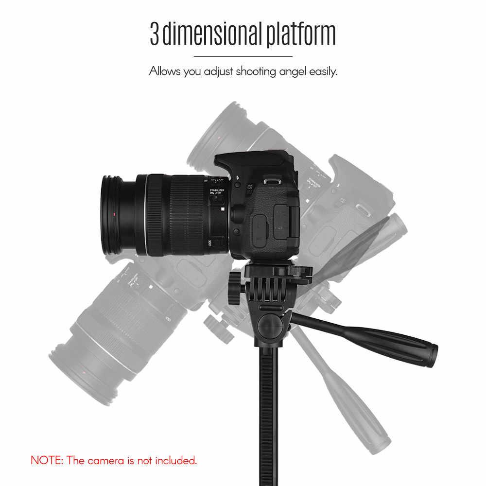 Andoer Fotografi Tripod Berdiri Membawa Tas Ponsel Pemegang untuk Canon Sony Nikon DSLR Kamera untuk iPhone Xiaomi Huawei Smartphone