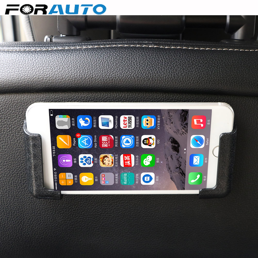 Self-adhesive Car Cell Phone Holder Car Interior Accessories Multifunction GPS Display Bracket Adjustable Width