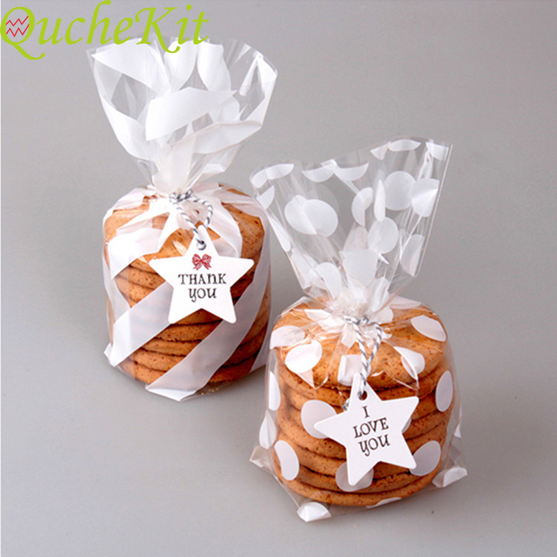 // Cookie Packaging Snack Gift Bag Candy Gift Bag Baking Slices Toast Bag Cookie
