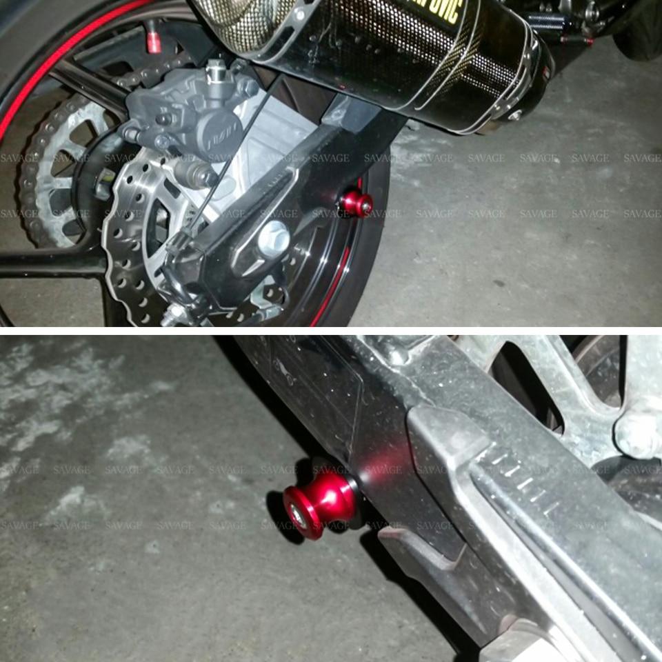 Motorcycle Frame Slider Swingarm Spools Slider For SUZUKI DL 650//1000 V-Strom GSX1300R HAYABUSA SFV//SV 650 DL650 DL1000 GSX 1300R Stand Screw 8mm Used in motorcycles Color : Black