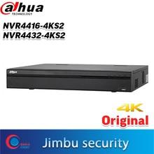 DAHUA NVR 16ch 32ch 4K NVR4416 4KS2 NVR4432 4KS2 1.5U H.265 200Mbps Bande Passante Entrante jusquà 8MP Résolution 4HDD