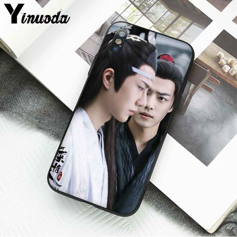 Yinuoda ChenQingLing en olgunlaşmamış Wang Yibo XiaoZhan yumuşak telefon kılıfı için iPhone X XS MAX 6 6S 7 7 artı 8 8 artı 5 5S XR 11pro max