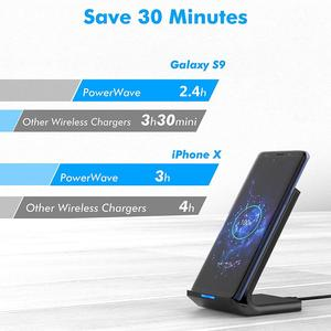 Image 4 - FDGAO Qi Wireless Charger Stand For iPhone 11 Pro X XS MAX XR 8 Plus Samsung S9 S10 S10E 15W Fast Wireless Charging Dock Station