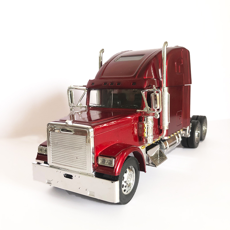 1/32 Alloy Die Cast Heavy Truck Toy Car Model Freightline Trailer Metal Model Car 26cm In Length Collection Toy Gift FOR Kids