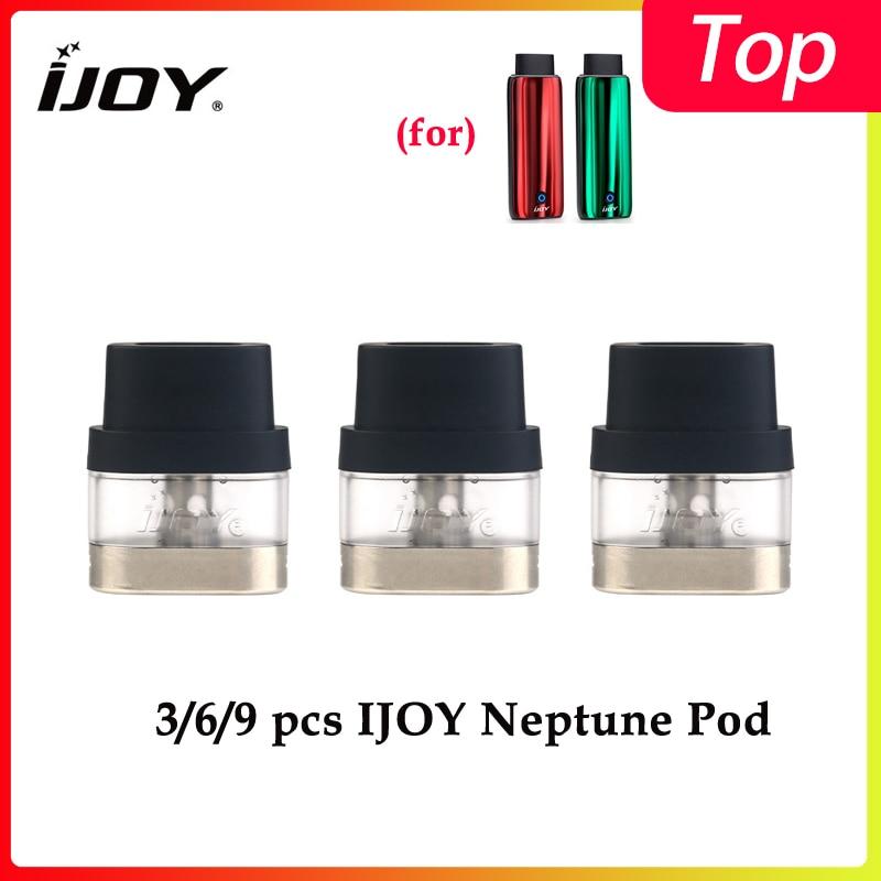 3PCS/6PCS/9PCS Hot IJOY Neptune Pod Cartridge With 1.8ml Capacity 1.2ohm Coil For Ijoy Neptune Vape Kit