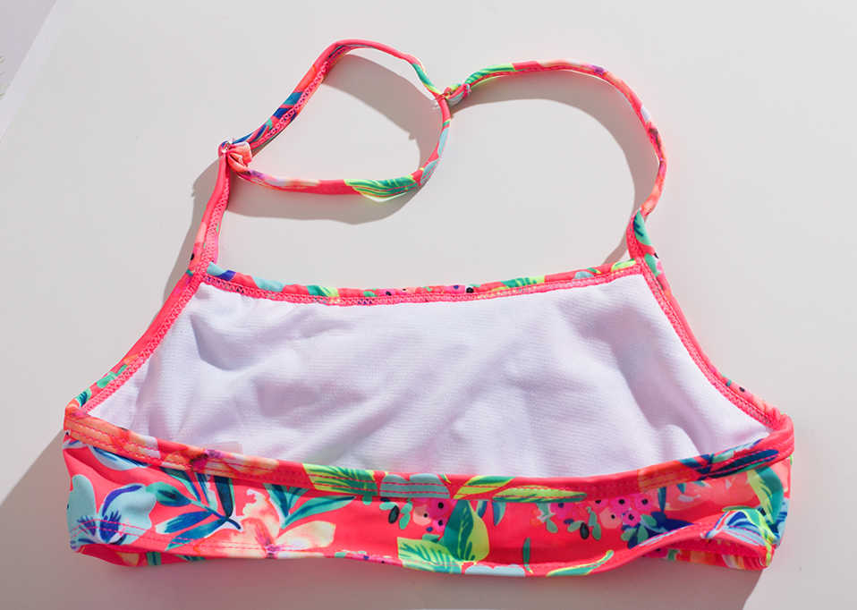 13 ~ 15 Tahun Girls Swimsuit Remaja Gadis Pakaian Renang Baju Renang untuk Anak Perempuan Dua Potong Anak-anak Bikini Set Anak Swimsuit-ST216