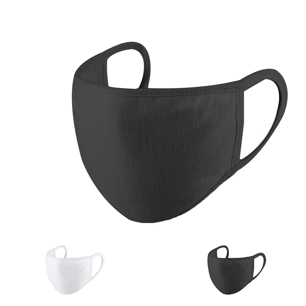 Reusable Earloop Masks Unisex Dust Proof Windproof Cotton Mouth Mask Breathable Washable Men Women Mask Face Cover