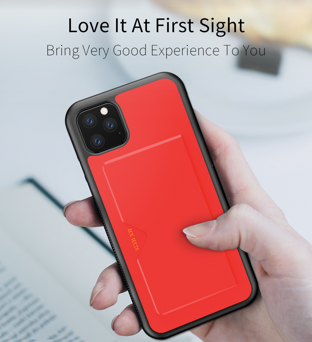Chirm Card Pocket Case for iPhone 11/11 Pro/11 Pro Max 8