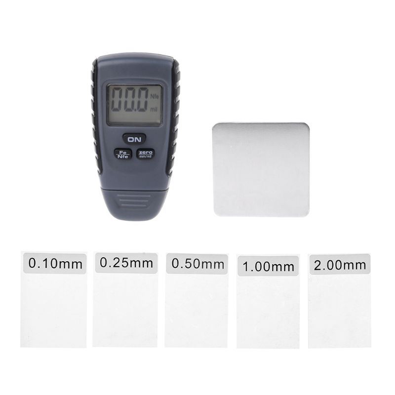 RM660 Digital Car Paint Coating Thickness Gauge Tester Auto Coating Thickness Meter 0-1.25 Mm