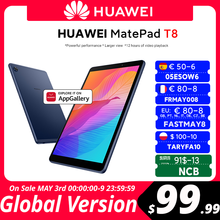 Global Version HUAWEI MatePad T8 2GB16GB LTE Tablet PC 8.0inch faceunlock 5100mAh Big Battery Support microSD Card Android10 T8