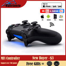 Controller For PS4 / PC / Android / iPhone Wireless Bluetooth Gamepad For SONY Pro Playstation 4 Dualshock Game Console Joystick(China)