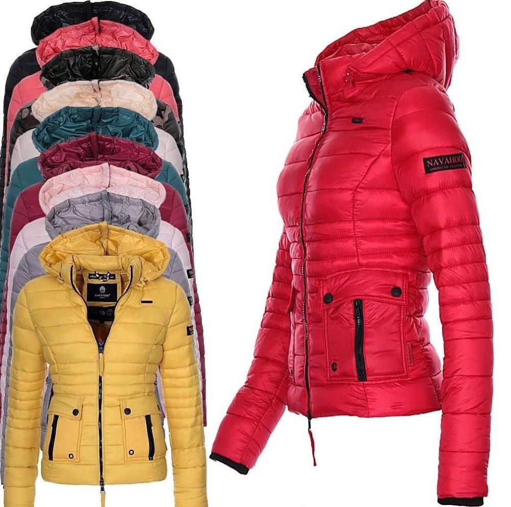 ZOGAA Brand Winter Parkas Women's Coats Puffer Jacket Parka For Women Casual Slim Fit Solid Outwear Female Hooded Coat Plus Size