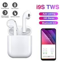 True Wireless Stereo Earbuds I9S TWS Wireless Earphone Mini 5.0 Bluetooth Headph
