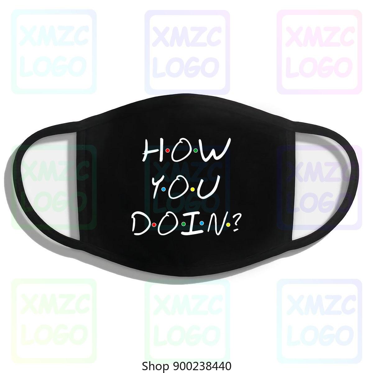 Забавная маска-повязка на голову How You Doin Friends для мужчин и женщин
