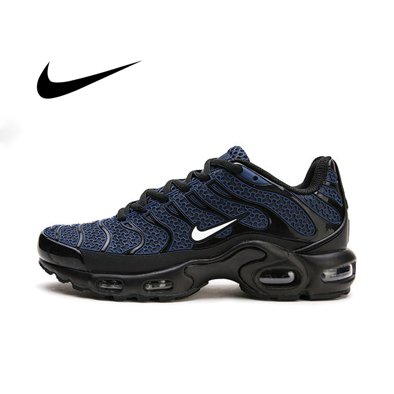 Original Nike Air Max Plus TN Men's Running Shoes Leisure Sneakers Outdoor Sports Fitness Jogging Breathable Damping Durable