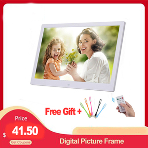 "Image 1 - 10.1 ""HD תמונה דיגיטלית מסגרת תמונה Mult מדיה נגן MP3 MP4 שעון מעורר עבור מתנה"