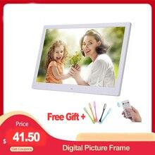 """10.1 """"HD cadre Photo numérique Photo lecteur multimédia MP3 MP4 réveil pour cadeau"""