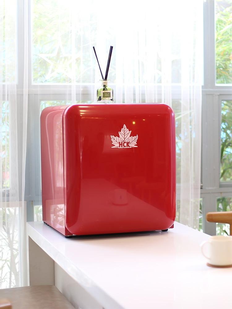 BC-46COC Cosmetics Small Refrigerator Retro Mini Cosmetics & Skin Care Facemask Refrigeration