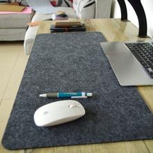 лучшая цена 2016 New Felt cloth Hot selling New670*330*3mm Universal Mouse Pad Mat for Laptop Computer Tablet PC Black