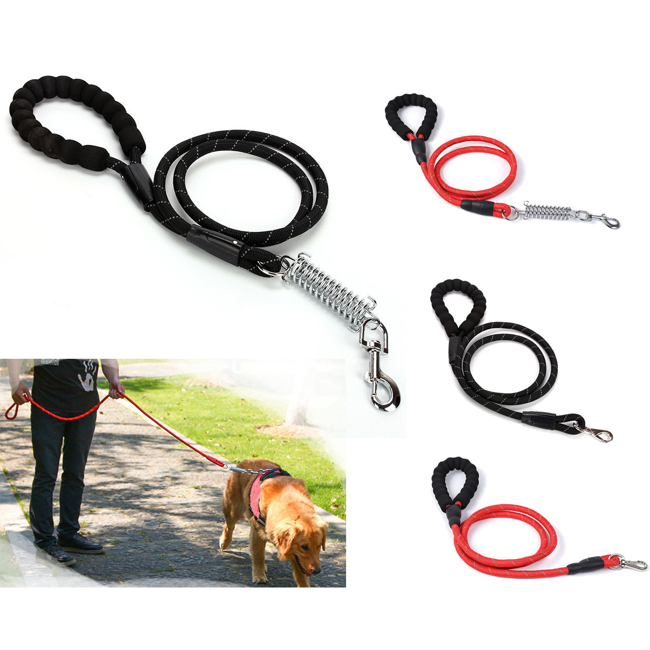 Dog Leash for Pet Cat Dog 6 FT Long Dog Puppy Nylon Leash Lead High Quality