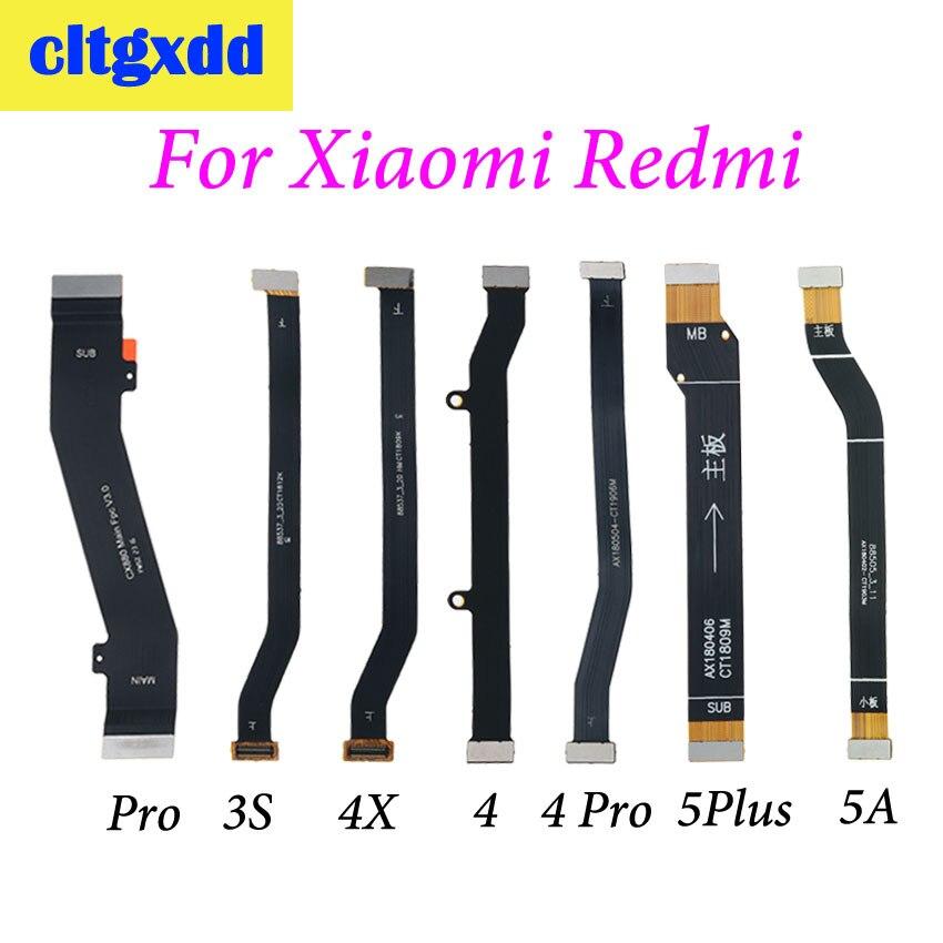 Cltgxdd 1pc Main Board Motherboard LCD Display Connector Flex Ribbon Cable For Xiaomi Redmi 3 3S 4 Pro 4X 4pro 5 Plus 5A
