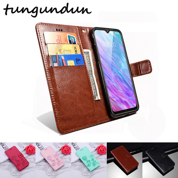 цена на Case For ZTE Blade 20 smart V1050 Leather Wallet Silicone Case Cover For ZTE Blade 20 Smart Phone Bag Coque For ZTE Blade 20