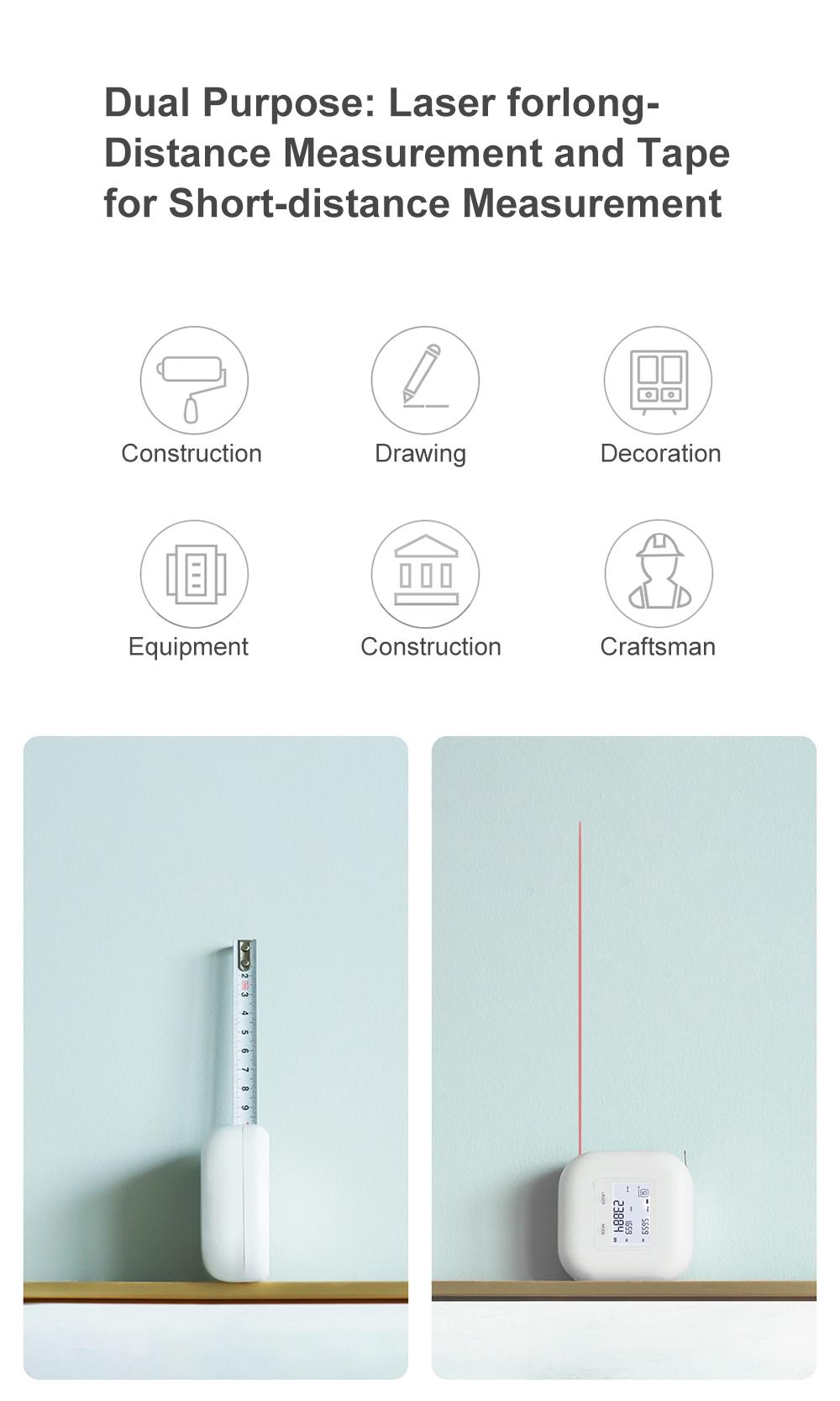 Cinta métrica digital Xiaomi que se ha convertido en éxito de ventas