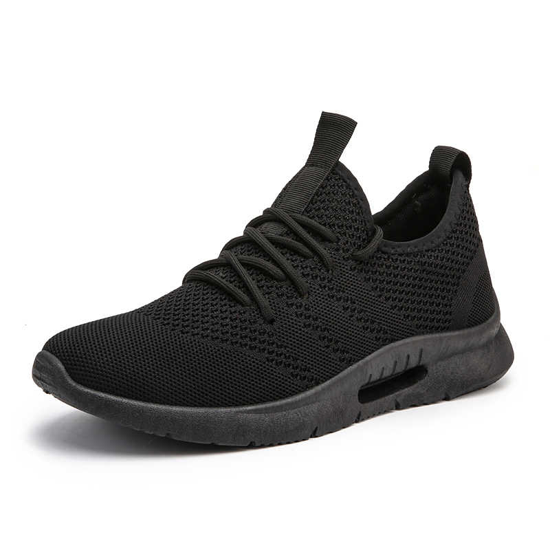 2019 Nieuwe Schoenen Mannen Lichtgewicht Ademende Mannen Casual Schoenen Sneakers Comfortabele Platte Mannelijke Outdoor Fashion Wandelschoenen Big Size