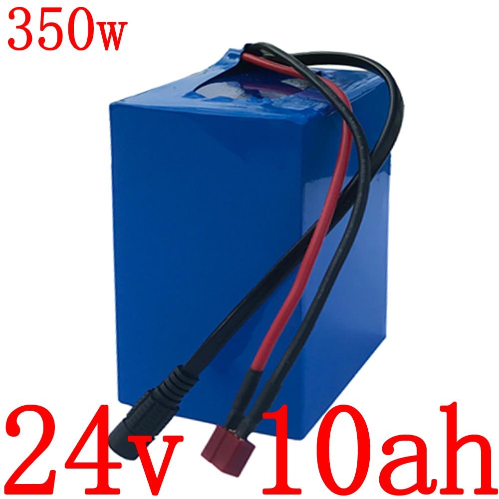 350W 700W 24V baterie na elektrický pohon 24V 10AH 12AH 14AH 16AH 18AH 20AH lithiová baterie s nabíječkou BMS 29,4V 3A, celní poplatek zdarma