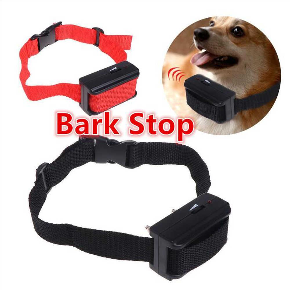 Nuevo Repelente ultrasónico de perros, dispositivo de entrenamiento Anti ladridos para perros, vibrador inteligente por inducción, Collar de Control para mascotas