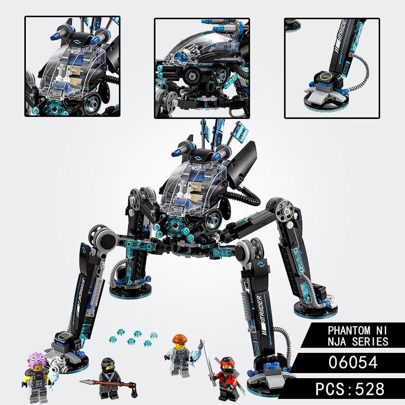 Ninjagoed Water Stridered Toys Sets Building Blocks For Legoing Robot Technic Kit Bricks Classic Movie Ninja Model Toys Children