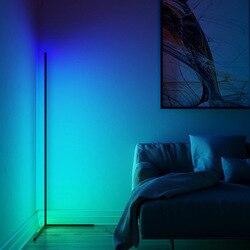 Nordic noxu design lâmpada de assoalho em um tripé suporte para sala estar canto led piso luz escandinavo quarto pé lâmpada rgb
