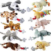 Baby Junge Mädchen Dummy Schnuller Baby Schnuller Abnehmbare Mit Deckel Spielzeug Schnuller Dummy Fütterung Elefanten Silikon Nippel