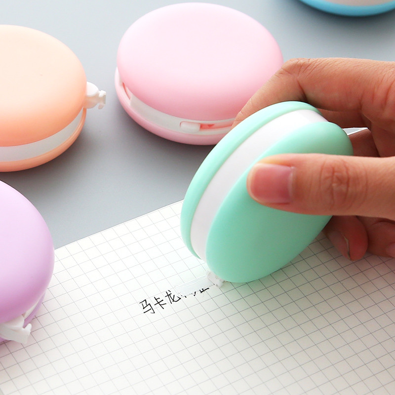 8m Decorative Correction Tape Sticker White Color Correcting Corrector Tools Kawaii Stationery Christmas Gift Office Supplies