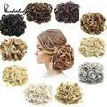 WonderLady 85 г большая Заколка-расческа, кудрявый шиньон, синтетические волосы конский хвост, накладные волосы для наращивания, накладные пучки