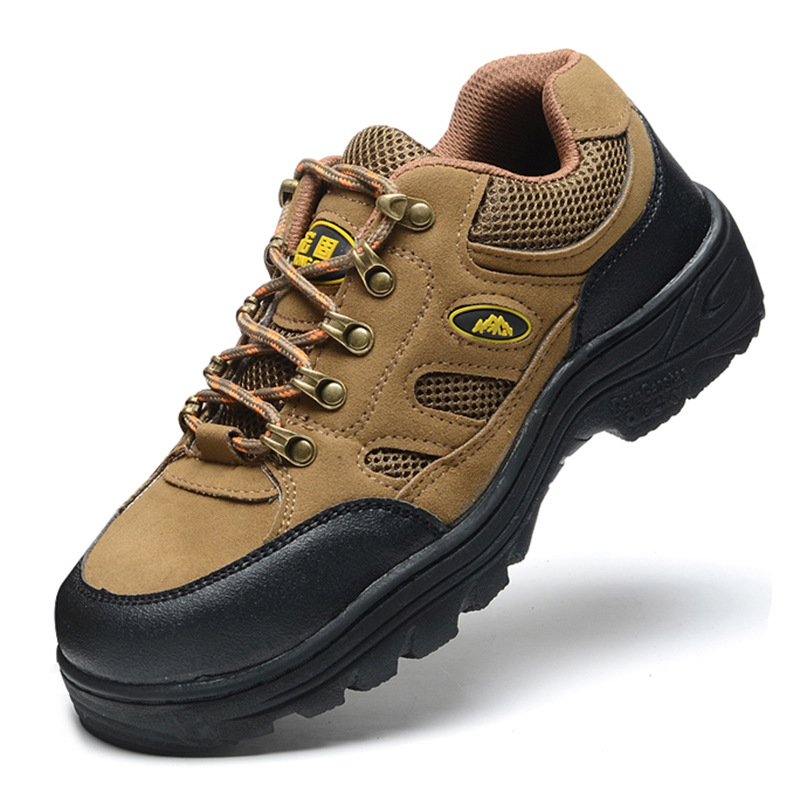Currently Available Supply Safety Shoes Rubber Sole Anti-slip Protection Hiking Shoes Anti-smashing And Anti-penetration Outdoor