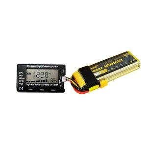 Image 4 - 1 7S pil fonksiyonu Test ölçüm cihazı güç ve voltaj göstergesi LiPo LiFe Li ion ni cd pil kontrol Diy pil paketi dedektörü