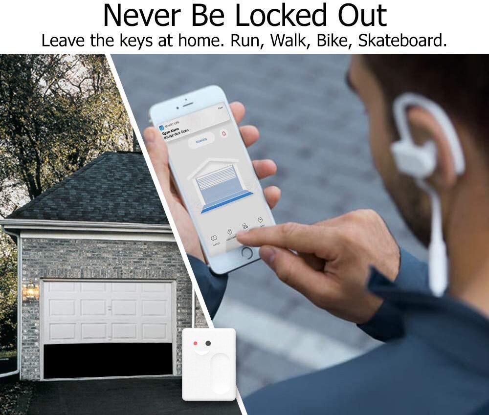 2020 Tuya Smart Life беспроводной Открыватель для гаражных ворот дистанционный WiFi переключатель умный дом Голосовое управление Alexa Echo Google Home